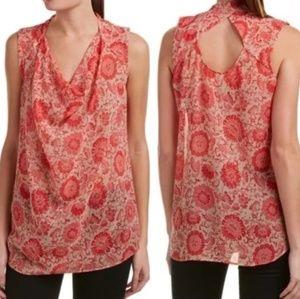 CAbi Vita Floral Blouse Style 5037 Size XS
